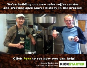 colorado brothers launch fundraising campaign for new solar roasting process for coffee