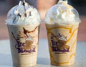 Coffee Bean & Tea Leaf drinks