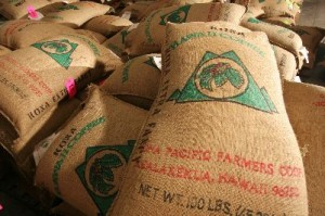 Kona Coffee bags