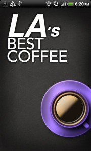 LA's Best Coffee App