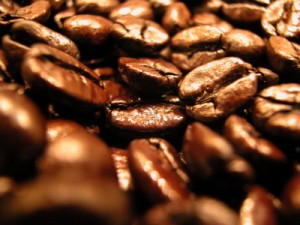 dark roasted coffee