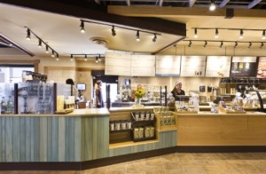 Caribou Coffee store in Arlington Heights Illinois