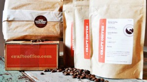 subscription coffee samples from Craft Coffee