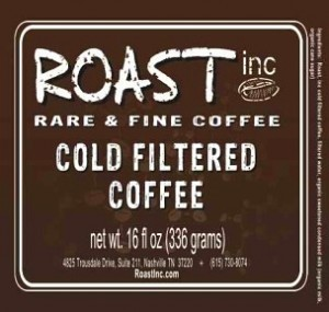 Nashville's Roast Inc. Unveils bottled coffee
