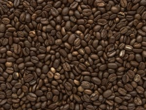 Robusta and arabica coffee beans