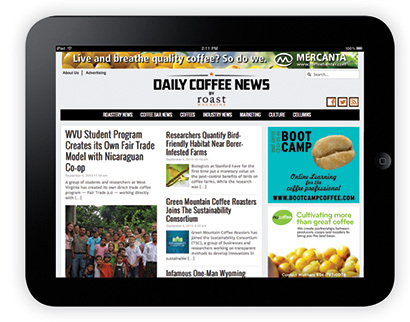 coffee industry news e-newsletter