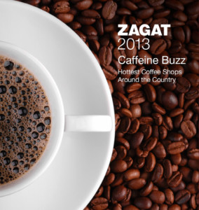 The Zagat 2013 coffee guide