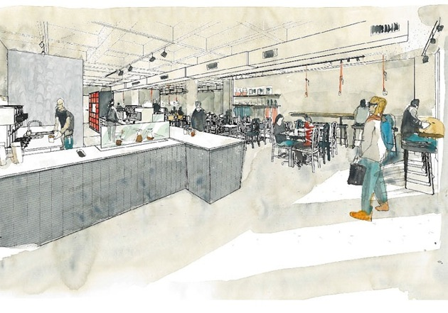 Flagship intelligentsia store on Broadway being remodeled