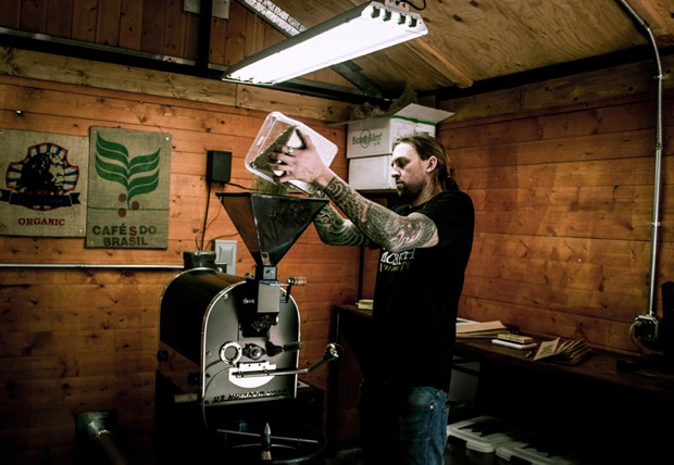 Guitarist David Kennedy starts James Coffee Roasting co.