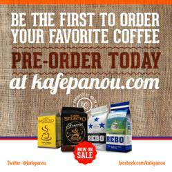 Haitian friends launch kafe pa nou