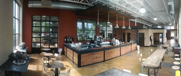First Look M E Swing S Roastery Focused Coffee Bar And