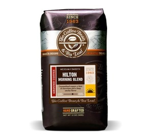 coffee bean and tea leaf to supply Hilton Worldwide