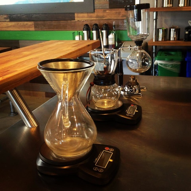 pour over coffee at perq