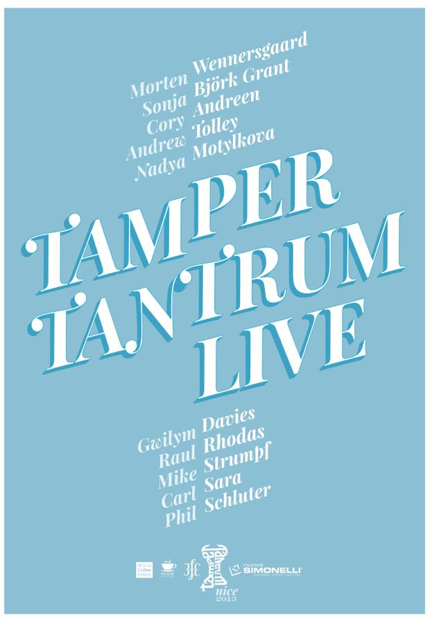 Tamper Tantrum 2013 Lineup announced