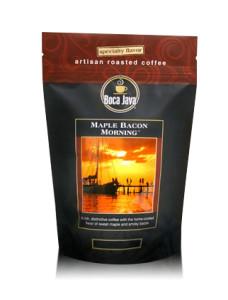 Boca Java bacon flavored coffee