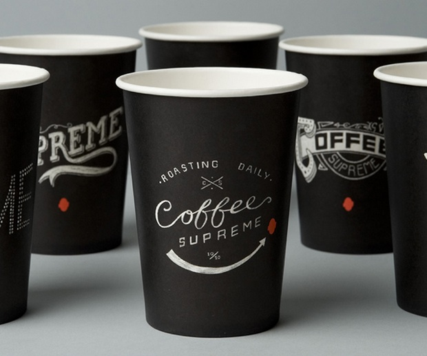 coffee supreme cups win dieline design award