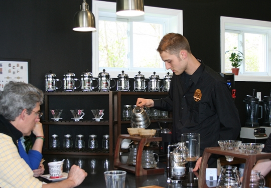 First Look: Hampton Coffee Co. 'Experience' Store