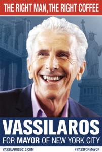 John Vassilaros for New York Mayor