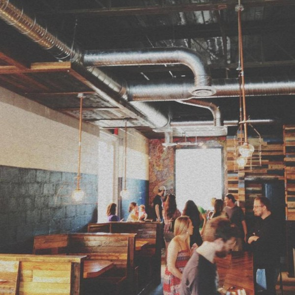 inside oak cliff espresso bar