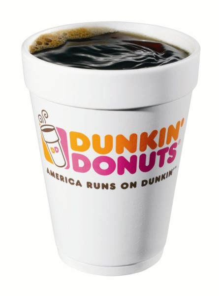 Dunkin' Makes Paper Cups that Mimic Polystyrene Foam