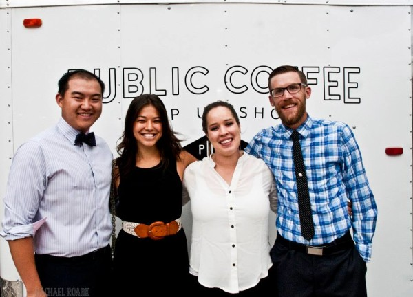 Public Coffee Denver premier party pop-up