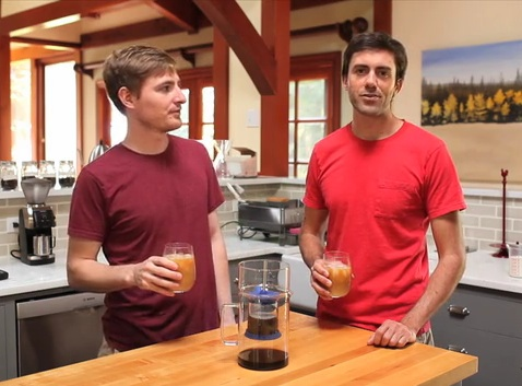 inventors of the Bruer cold drip