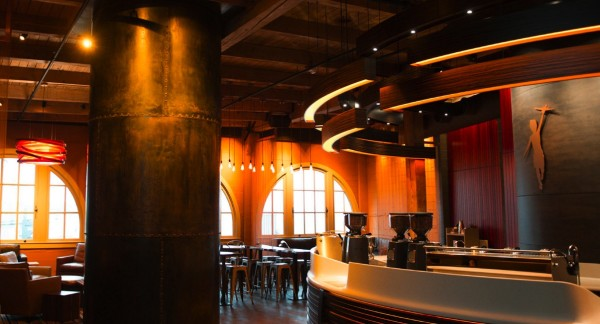 First Look: Storyville Coffee's Splashy Coffee Bar at Seattle's Pike Place Market