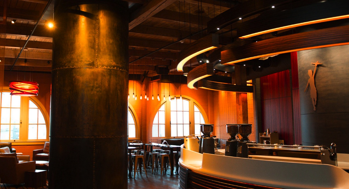 First Look Storyville Coffee S Splashy Coffee Bar At