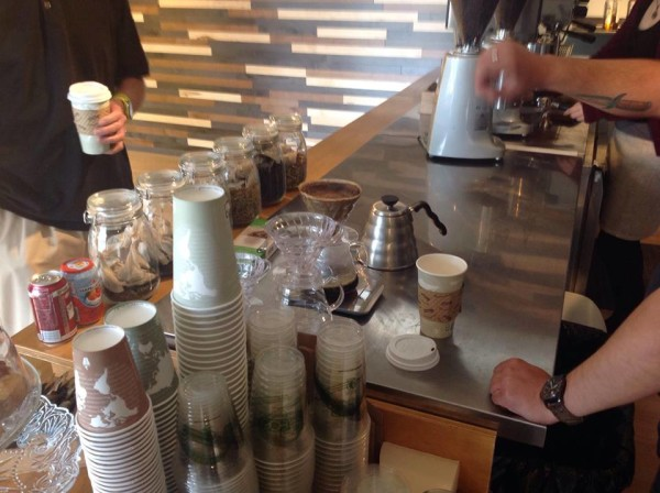 pour over coffee bar hansa
