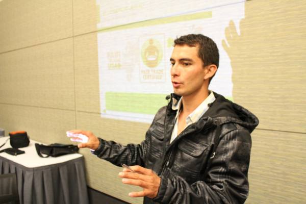 Andres speaking at SCAA 2013 in Boston
