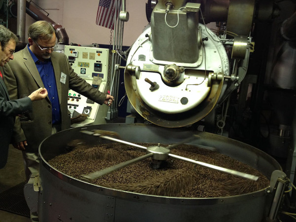 brian dibble of kobos coffee