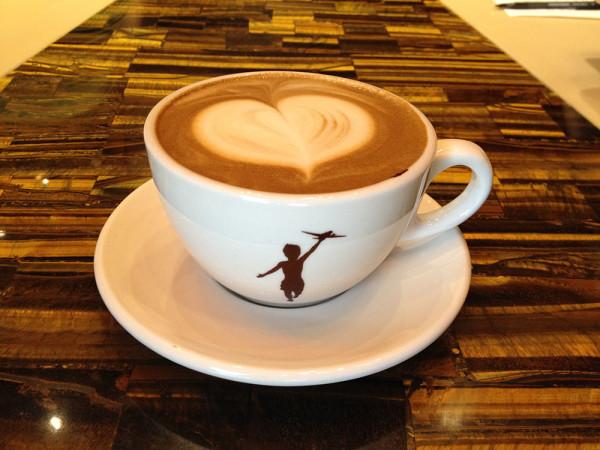 Mocha Latte from Storyville Coffee Roasters