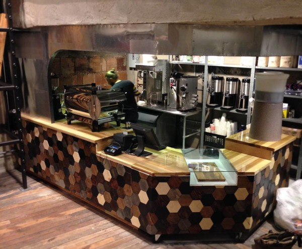 urban outfitters selling coffee on fifth ave
