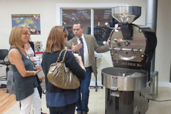 Ed Freedman opens Shaearwater Coffee Roasters