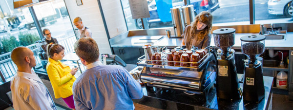 blue bottle opens in Gotham West