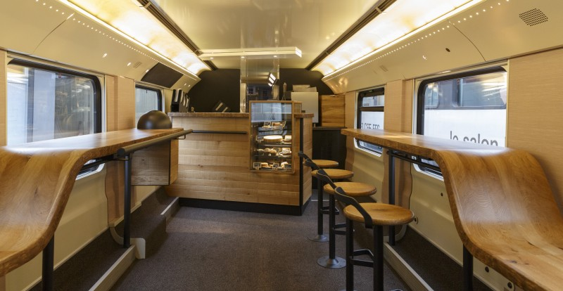 How To Design A Coffee Bar On Train