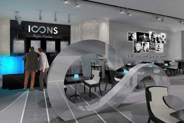 Icons coffee opening in Dubai