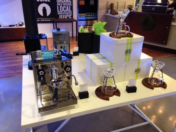 artis retail coffee