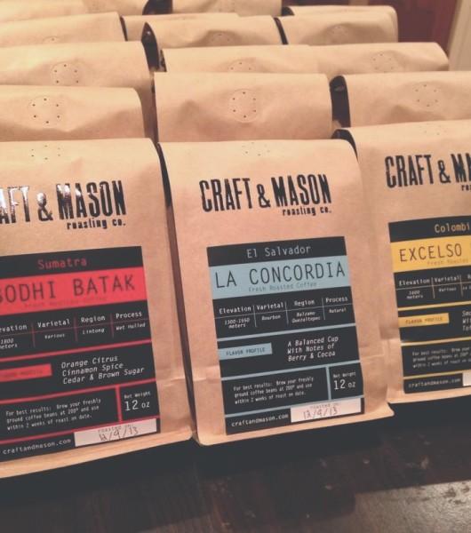 craft and mason coffee co.