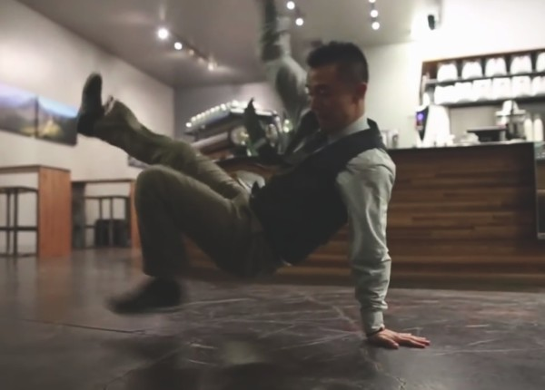 Must-See Video: Roast, Prep, Pour, Breakdance