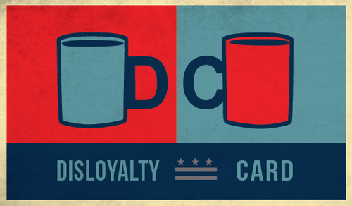 D.C. Disloyalty Card front