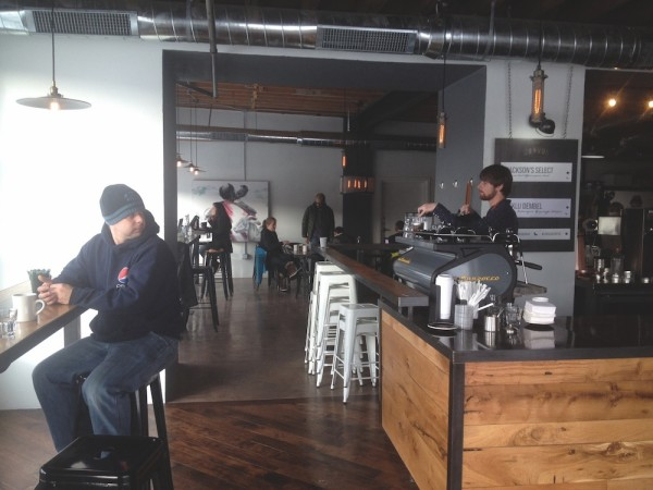 inside corvus coffee denver