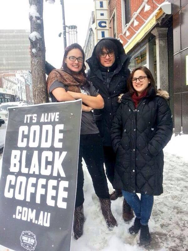 code black montreal coffee