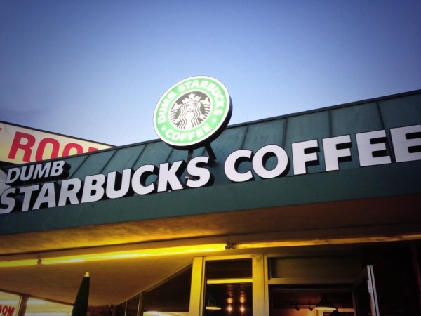 Dumb Starbucks: Art, Shameless Opportunism or Just Dumb?