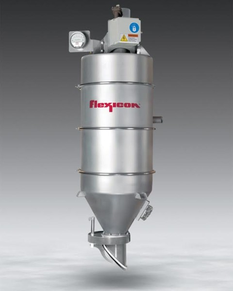 Flexicon Introduces Vacuum Receiver with Pneumatic Dump Valve