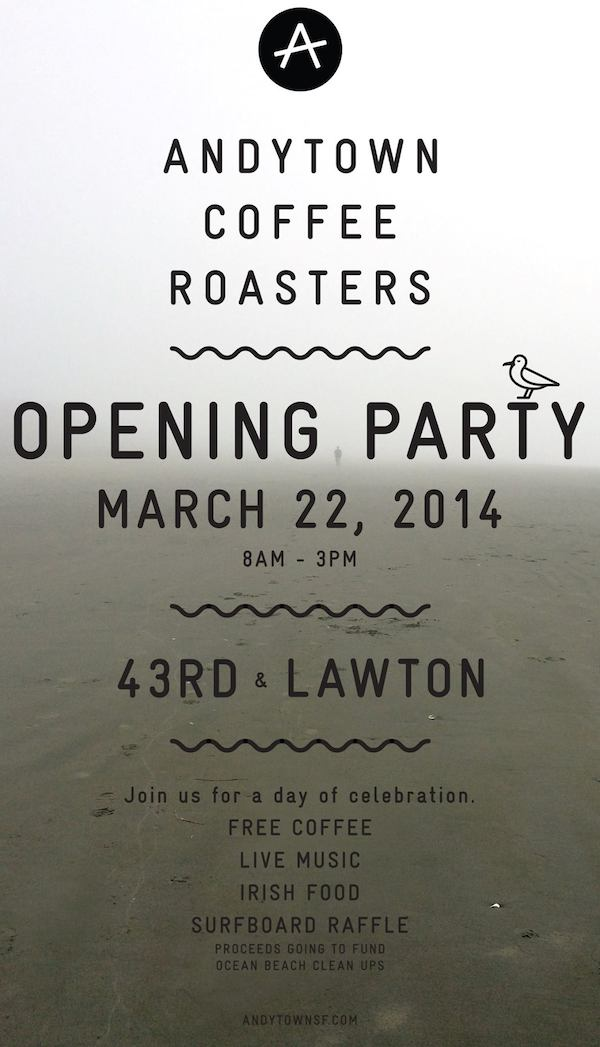 Andytown Grand Opening Party