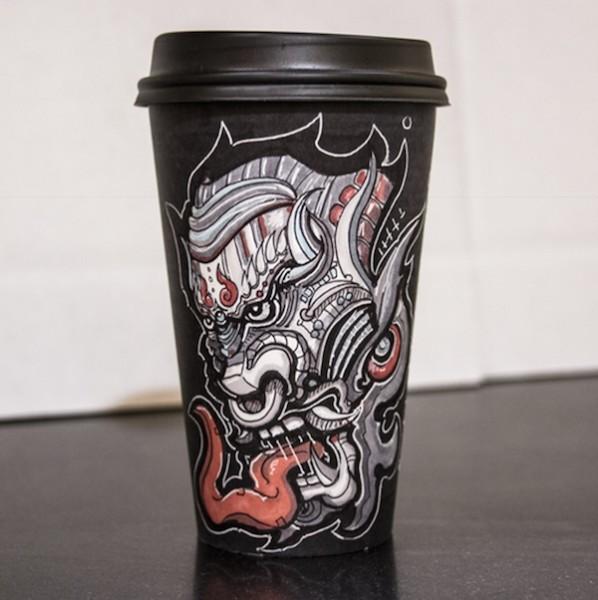 Miguel Cardona's Must-See Coffee Cup Art