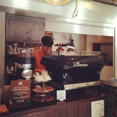 Number Daikanyama in Tokyo fashion coffee