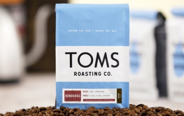 Toms coffee bag one for one