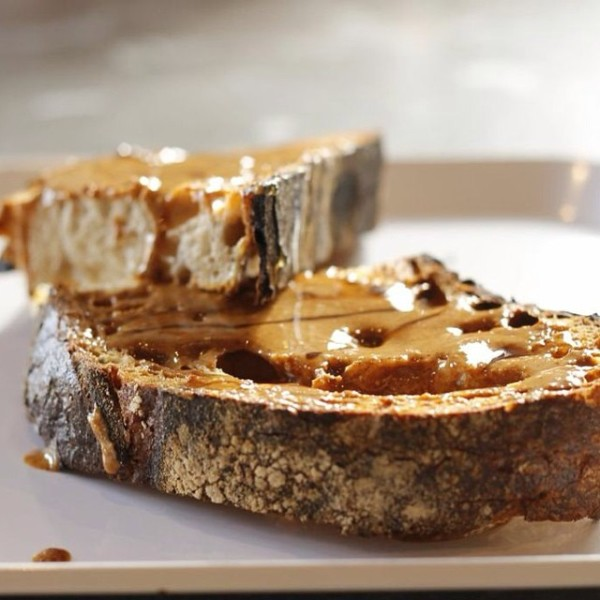 toast at Huckleberry Roasters denver